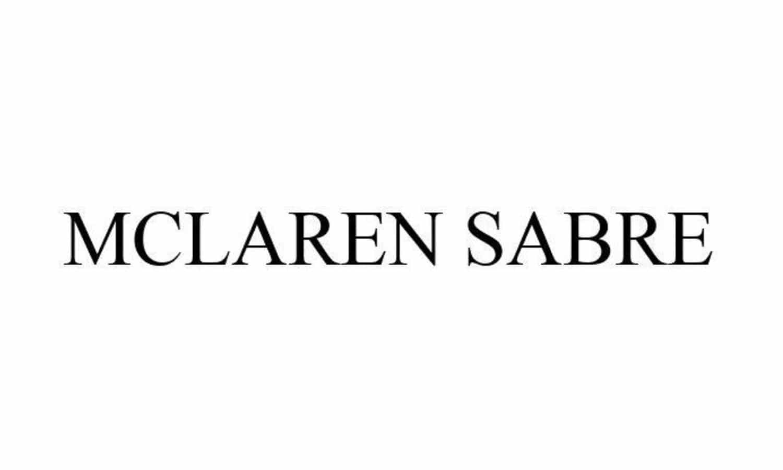 McLaren Sabre logo USPTO