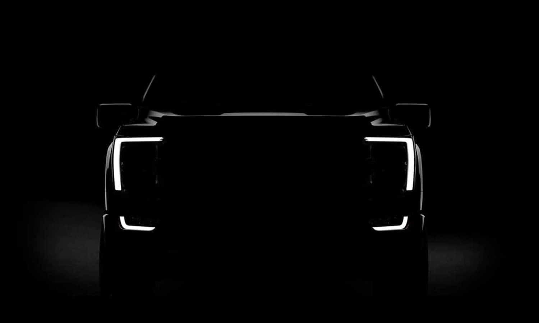 New Ford F-150 2021 teaser