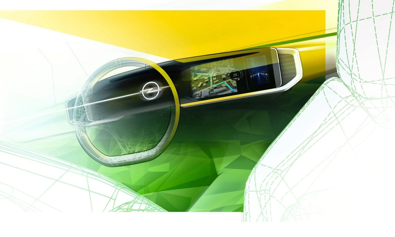 New Opel Mokka Pure Panel teaser