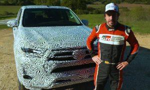 New Toyota Hilux 2020 Fernando Alonso testing