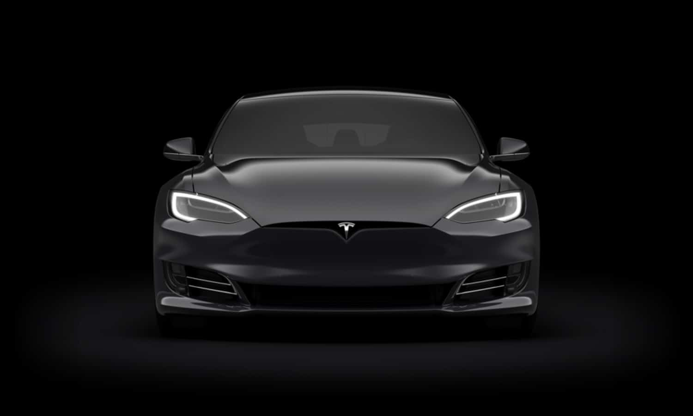 Tesla Model S 402 Miles front