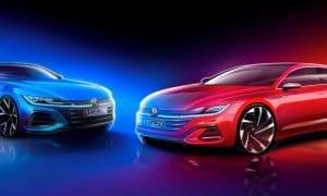 Volkswagen Arteon - Volkswagen Arteon Shooting Brake teaser