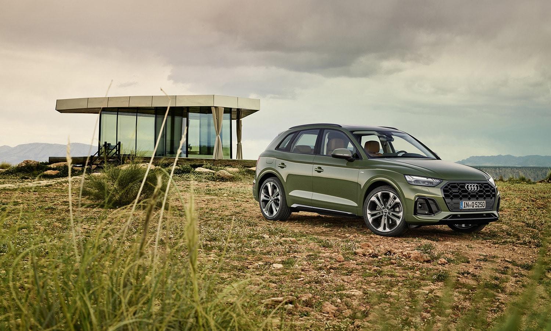 Audi Q5 2020 perfil
