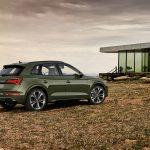 Perfil trasero del Audi Q5 2020