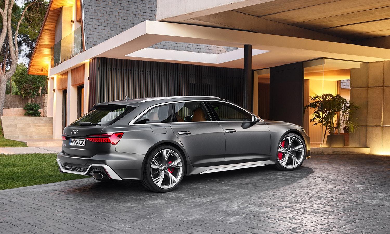 Audi RS 6 Avant etiqueta Eco