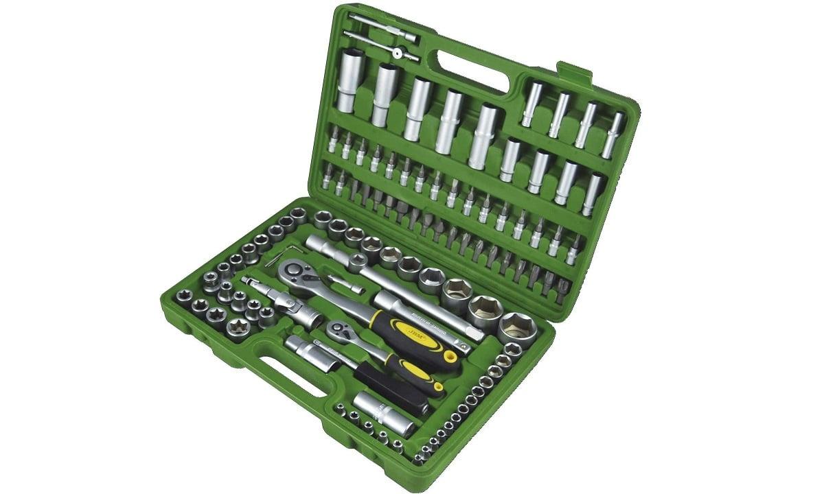 Caja de herramientas para coche mediana