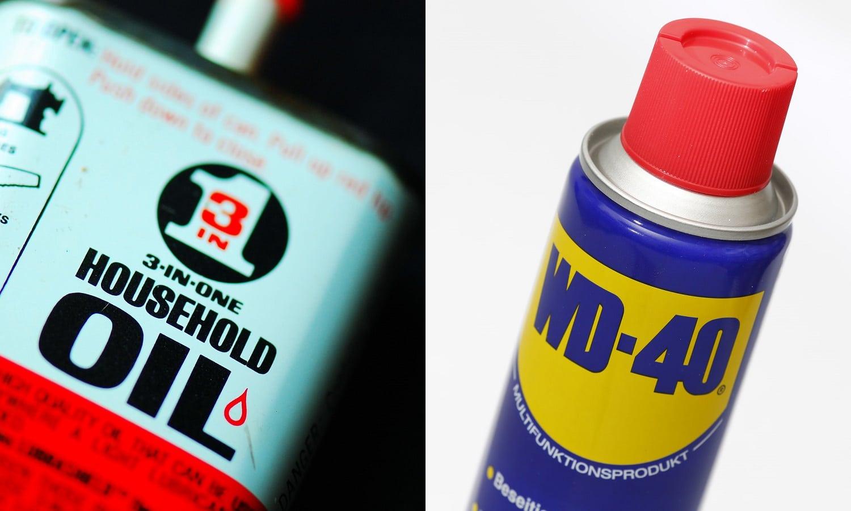 Frotar con lubricante multiusos (WD-40 ó 3 en Uno) mezclado con bicarbonato es otro método para pulir los faros