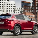 Mazda CX-5 perfil trasero