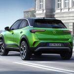 Opel Mokka eléctrico trasera