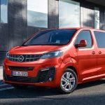 Opel Zafira-e perfil