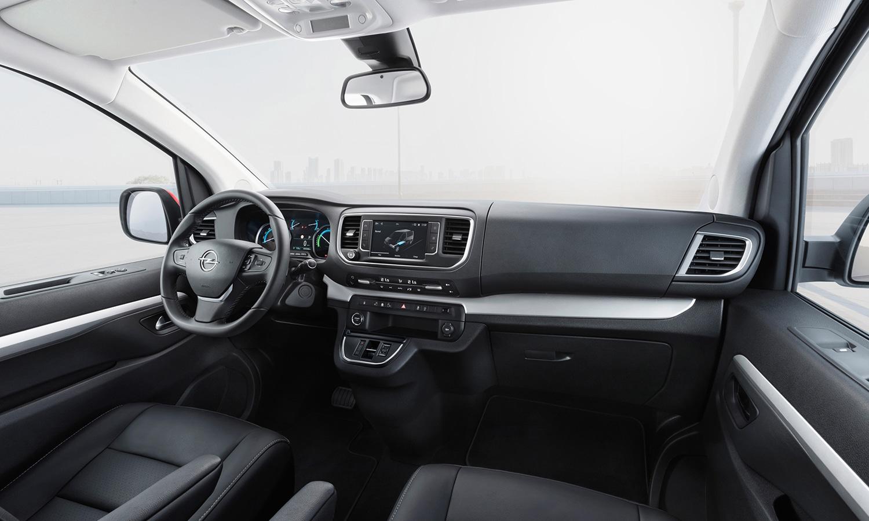 Opel Zafira-e salpicadero