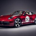 Porsche 911 Targa 4S Heritage Design delantera