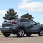 Mazda CX30 vista trasera
