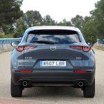 trasera Mazda CX30 prueba