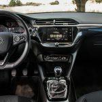 interior del Opel corsa sexta generación