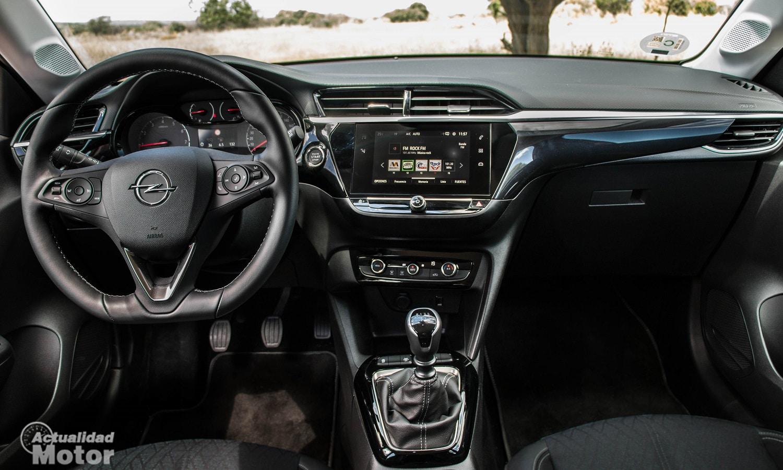 Interior del Opel corsa de sexta generación