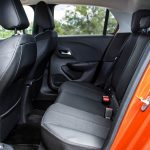Plazas traseras Opel Corsa