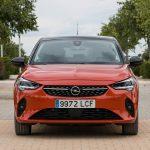 Frontal del Opel Corsa