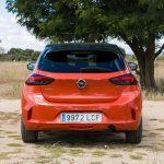 Trasera del Opel Corsa
