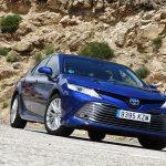 Prueba Toyota Camry frontal