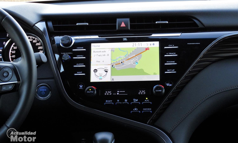Pantalla infotainment Toyota