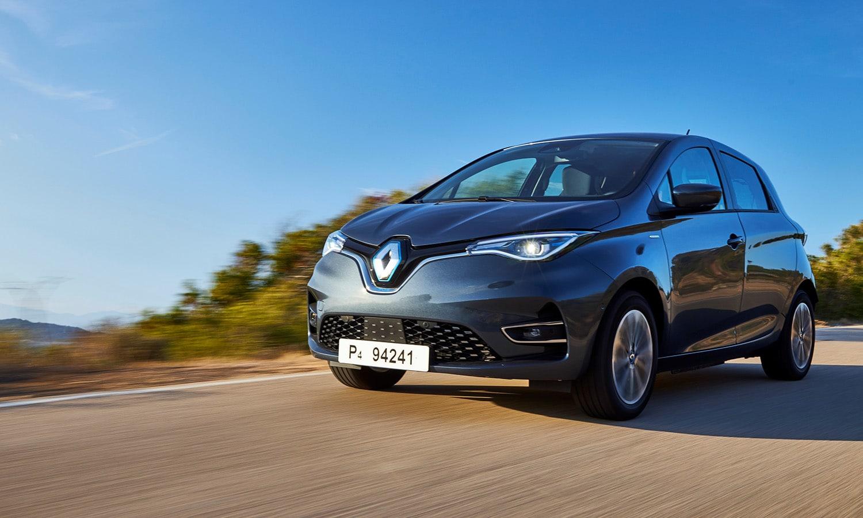 Renault Zoe coches eléctricos