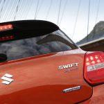 Suzuki Swift Sport Hybrid inscripción