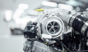 Turbocompresor eléctrico Mercedes