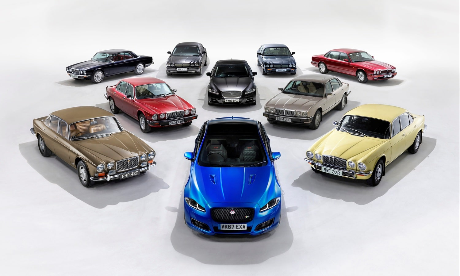 50 years of Jaguar XJ Heritage Range