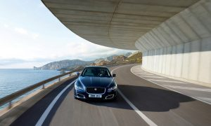 50 years of Jaguar XJ front