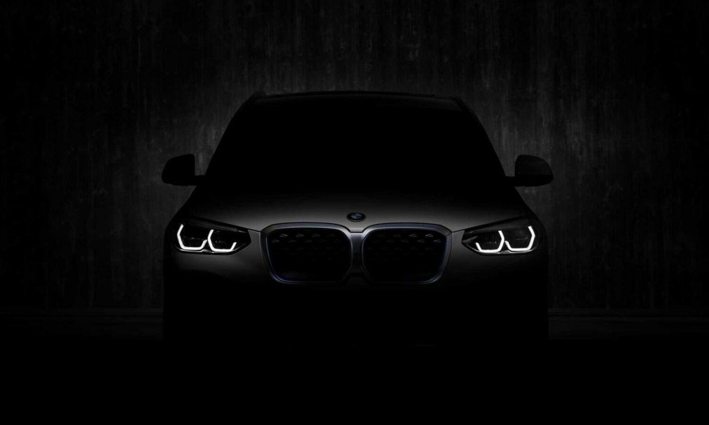 BMW iX3 front teaser