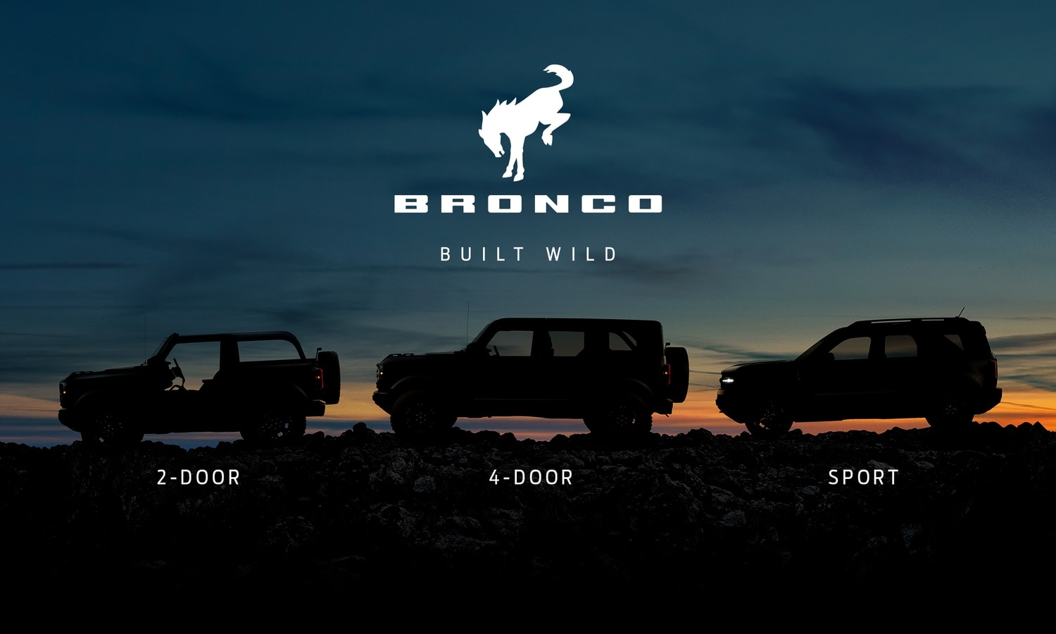 Ford Bronco Family teaser