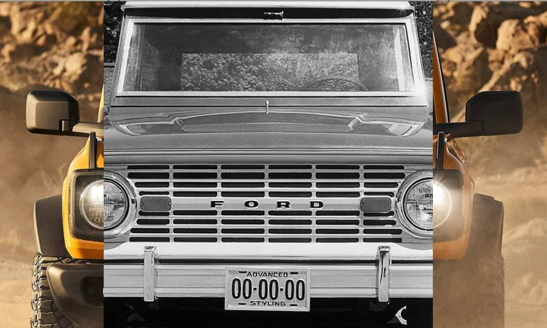 Ford Bronco front teaser