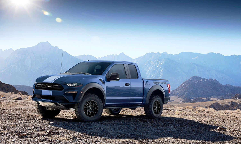Ford Mustang Raptor render front - Ford Rapstang MkI render front