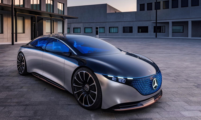 Mercedes-Benz EQS Vision Concept
