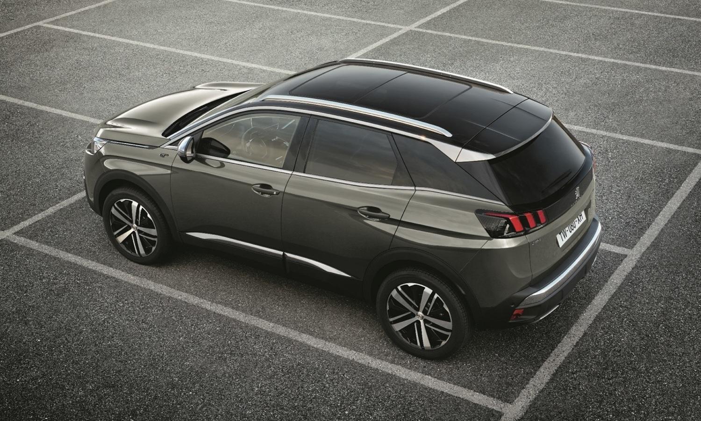 Peugeot 3008 Hybrid4 side rear