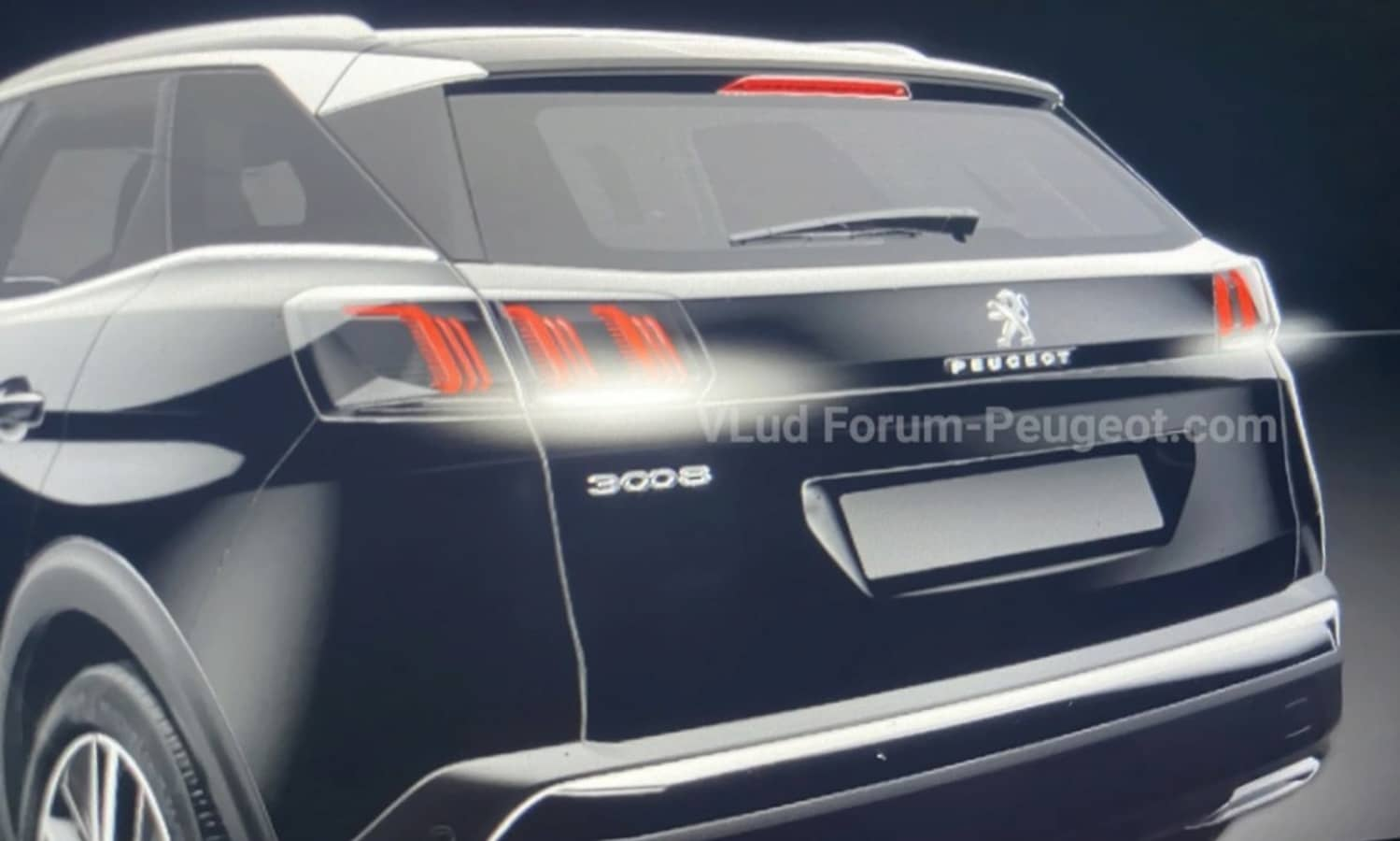 Peugeot 3008 restyling