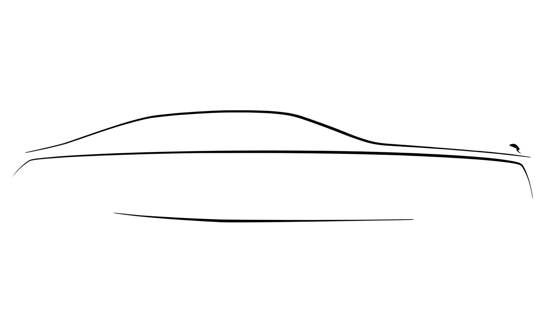 Rolls Royce Ghost side teaser 2021