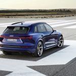Audi e-tron S perfil trasera