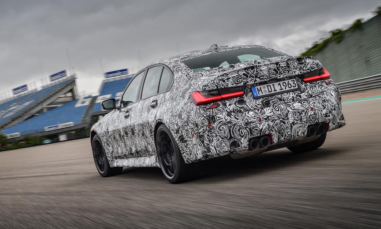 BMW M3 camuflado trasera