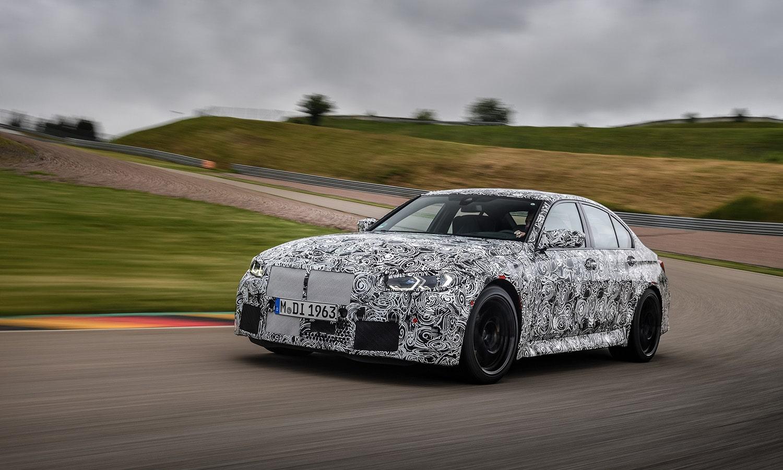 BMW M3 camuflado circuito