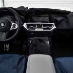 BMW M3 interior camuflado