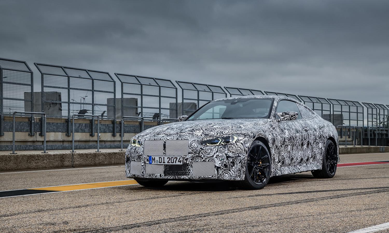 BMW M4 camuflado