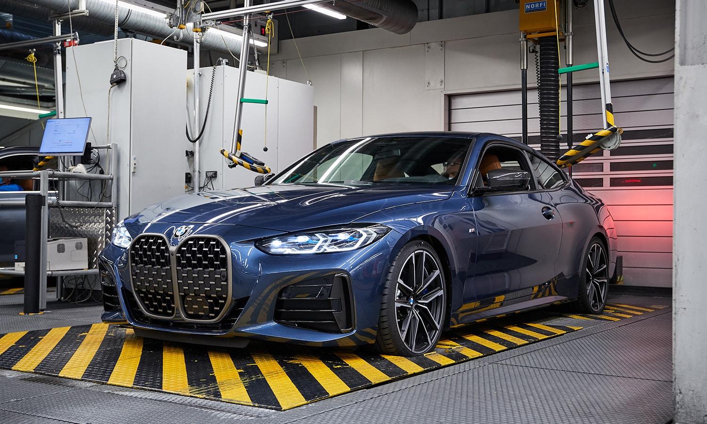 BMW Serie 4 fábrica