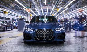 BMW Serie 4 parrilla