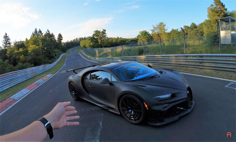 Bugatti Chiron Pur Sport en Nürburgring