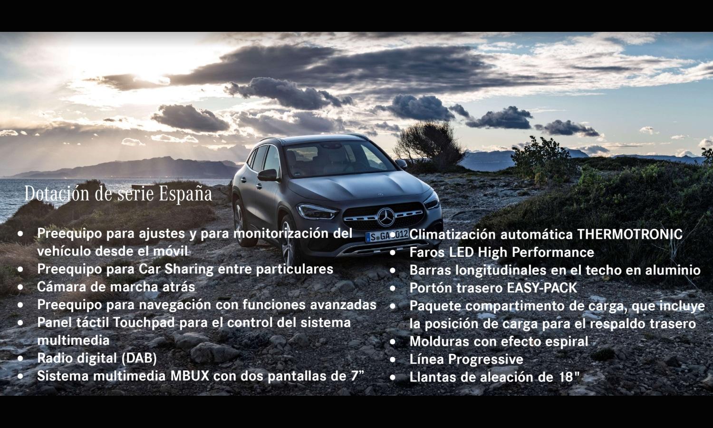 Equipamiento Mercedes GLA España