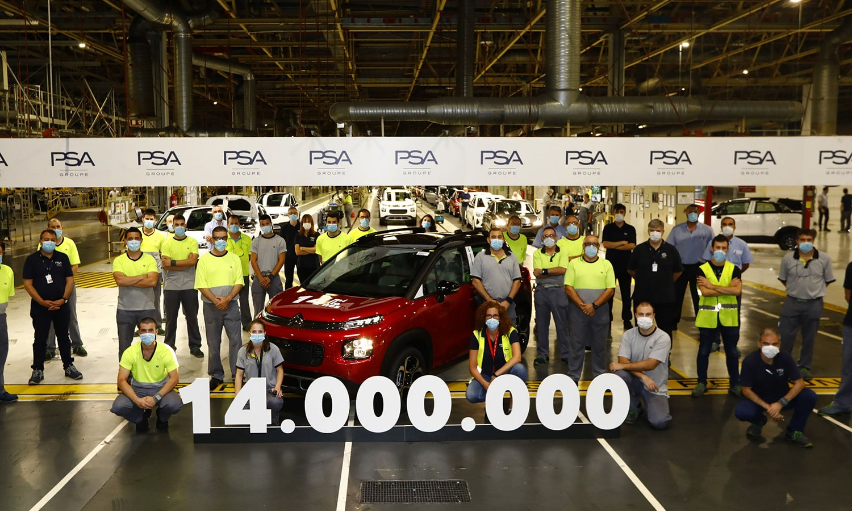 Fabrica Zaragoza 14 millones unidades