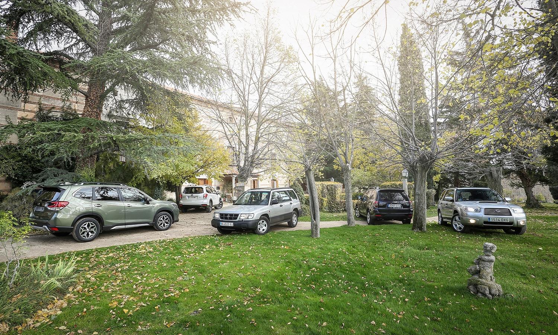 Generaciones Subaru Forester