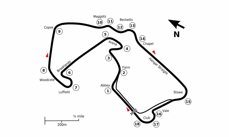 Silverstone Circuito